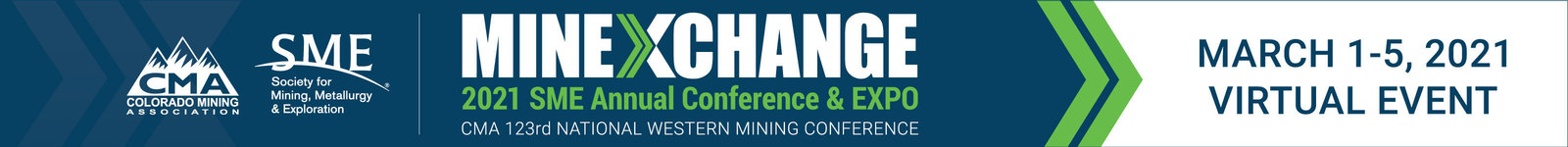 MINEXCHANGE 2021 SME Virtual Annual Conference & Expo logo